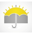 Icon of weather vector image