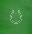 Luck Horseshoe computer symbol vector image vector image