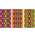 mexican ethnic frieze vector image vector image