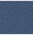 Seamless pattern of random silver dots vector image