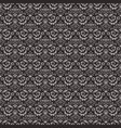 seamless vintage dark pattern vector image
