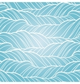 Seamless wave abstract hand drawn pattern vector image vector image