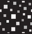 square pattern seamless vector image vector image