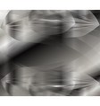 Grey geometric background vector image vector image