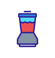 mixing blender icon outline vector image vector image