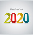 new year background with abstract design colored vector image vector image