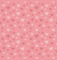 seamless pattern with blurred hearts repeating vector image vector image
