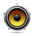 Audio speaker vector image