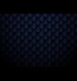 abstract elegant dark blue geometric semicircle vector image vector image