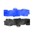 blue and black watercolor texture background vector image vector image