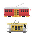 city transport public industry flat vector image