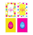 happy easter holiday vector image vector image