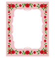 Red Roses Frame and Border