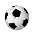 soccer ball - modern realistic isolated vector image