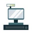 Store cash register vector image