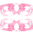 watercolor pink abstract pattern vector image vector image