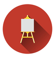 Easel icon vector image vector image