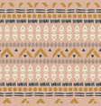 ethnic boho blush pink geometric seamless pattern vector image vector image
