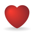 heart isolated object vector image vector image
