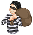 Robbery vector image