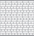 simple grungy brick wall pattern surface texture vector image