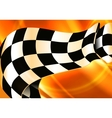 Background Horizontal Checkered vector image vector image