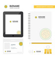 bacteria business logo tab app diary pvc employee vector image