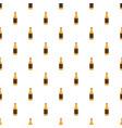 bottle of german beer pattern seamless vector image vector image