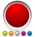 button badge shapes backgrounds in several colors vector image vector image
