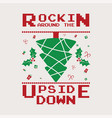 funny christmas graphic print t shirt design vector image vector image
