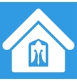 Home icon from Business Bicolor Set vector image vector image