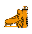 ice skate icon image vector image vector image