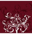 illustration the floral decor element vector image