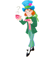 Mad Hatter vector image vector image