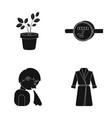 nature equipment medicine and other web icon in vector image vector image