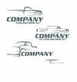 pickup logo vector image vector image