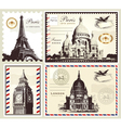 Set of paris and london symbols vector | Price: 1 Credit (USD $1)