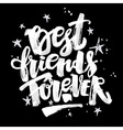 Best friends forever vector image vector image