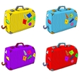Bright set of suitcases vector | Price: 1 Credit (USD $1)