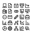 Business Icons 5 vector image