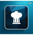 chef hat icon design in format vector image vector image