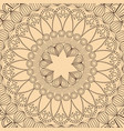 mandala tribal round decorative wallpaper vector image vector image