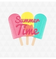 3ice-cream-summer-time vector image vector image