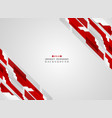 abstract of stripe futuristic gradient red line vector image vector image