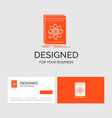 business logo template for api application vector image