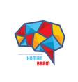 creative idea - business logo template vector image vector image