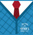 fathers day card best dad ever day special vector image vector image