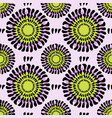 flowers seamless pattern fashion spring vector image vector image