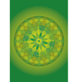 mandala of forest vector image vector image
