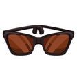 sunglasses unisex design for men and women vector image